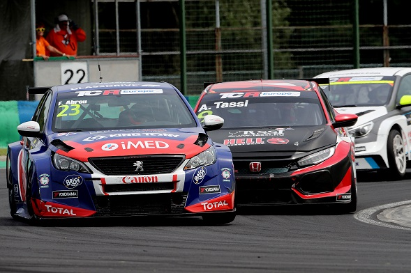 2018 TCR Europe 23 Francisco Abreu 01